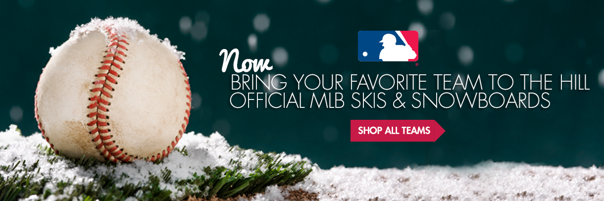 Official MLB Skis and Snowboards