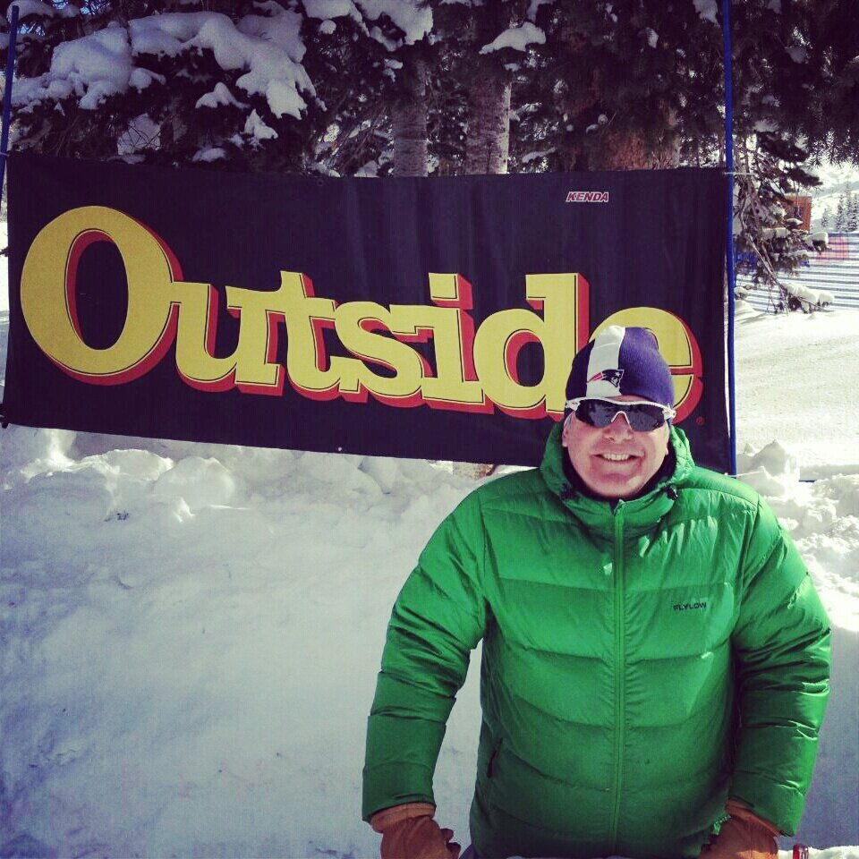 Outside ski test